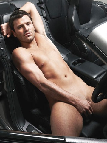 mark wright naked car penis cock